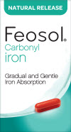feosol natural release iron