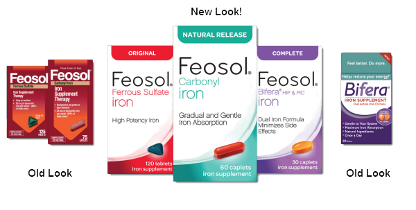 feosol new packaging