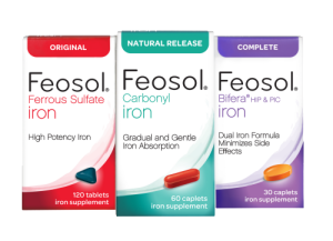 feosol three boxes